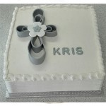 Novelty 55 - (30 x 30cm) R495 Butter icing.