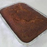 SIZE FOIL TRAY MALVA PUDDING A warm baked dessert.